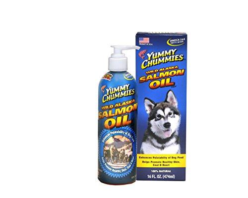 Arctic Paws Yummy Chummies Wild Alaska salmon oil 16-Ounce Salmon Oil Supplement