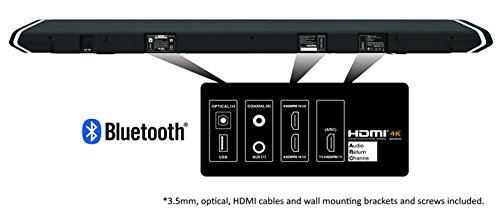 Nakamichi Shockwafe Pro 7.1Ch 400W 45 Sound Bar with 8 Subwoofer (Wireless) & Rear Satellite Speakers