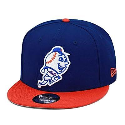 New Era 9fifty New York Mets Snapback Hat Cap Royal/Orange/Mr. Met Logo