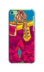 "Christopher Tinnermon TPU Durable Unique Designer Hard Case "" Fits iphone 5C"""