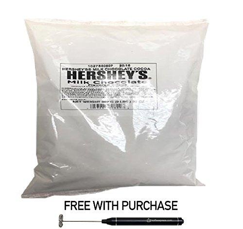 Hershey's Milk Chocolate Flavored Cocoa, 1 bag (2 lbs) 1- FREE (Hersheys Chocolate Hot Chocolate)
