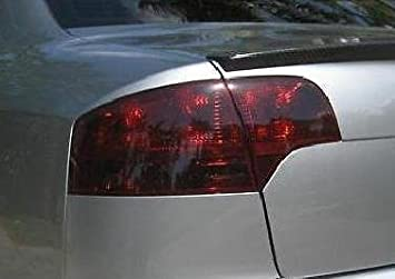 Precut Vinyl Tint Cover for 2006-2008 Audi A4 S4 Taillights 20/% Dark Smoke