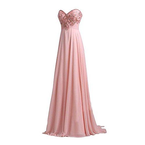 Baile Vestido Stomacher De Tostada Sleeveless Boda Un Honor Sslw Lady 2 Gran Pink Dama 4q6xfdEPw