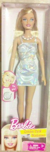 2011 Birthstone Barbie Doll October Opal Birthstone - For Birthdays in October October Birthstone Barbie