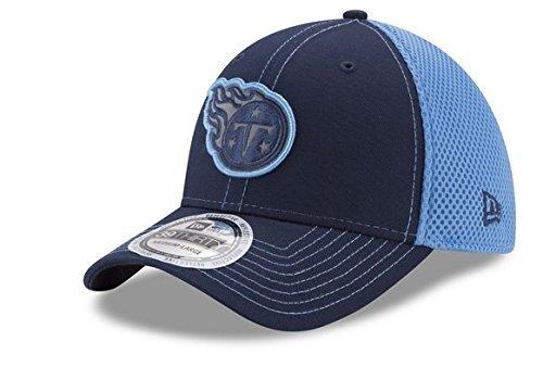 NFL Tennessee Titans大人用メンズPop Flect 39thirty Stretch Fitキャップ、ネイビー/ライトブルー B075TVZTWP   XL