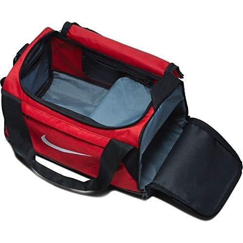 Amazon.com: Nike BRASILIA Sport Duffel Gym Bag, XS - Red ...
