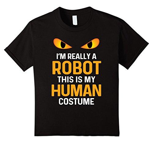 kids robot shirt - 6