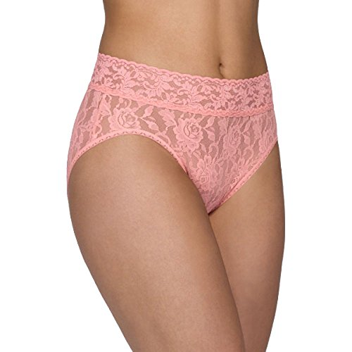 (Hanky Panky Signature Lace French Brief, Small, Belle Pink)