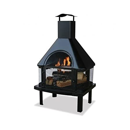 Blue Rhino Outdoor Firehouse Fireplace 16 8 Kaartenstemp Nl