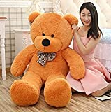 Saba Sales Supersoft 4 Feet Huggable/Lovable Big Teddy Bear with Heart for Boy/Girl/Gift(122 Cm,Brown )