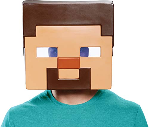Disguise Men's Steve Adult Mask, Brown, One Size