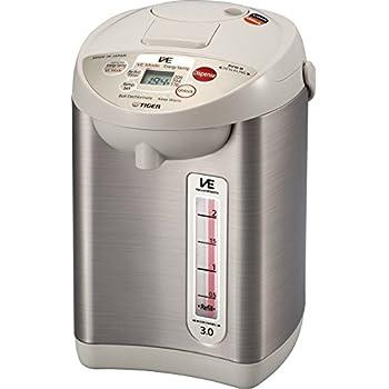 Tiger PVW-B30U Stainless Steel Vacuum Electric Water Dispenser, 3-Liter