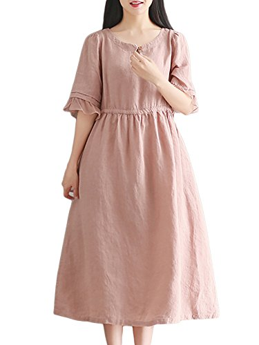 linen babydoll dress - 2