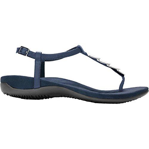 Vionic Womens Miami T-Strap Sandal Navy Size 6.5