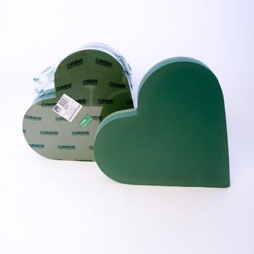 oasis floral foam heart - 7