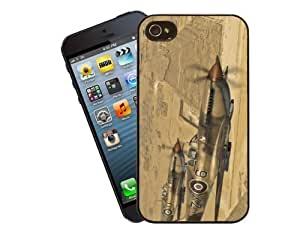 Eclipse Gift Ideas Aviation Supermarine Spitfire - iPhone 4 / 4s Case Cover