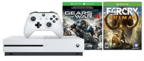 "Xbox One S 1TB Console Gears of War 4 Edition + Extra ""Far C"