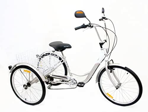 Komodo Cycling #7004 - Penny 6-speed Adult Tricycle, 24