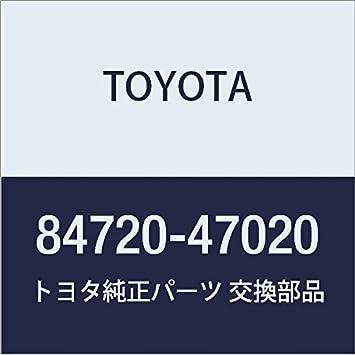 Toyota 84720-47020 Pattern Select Switch Assembly