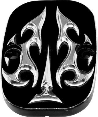 Precision Billet Aces Wild Lower Master Cylinder Cover - Black HD-ACE-LBRAKE-B