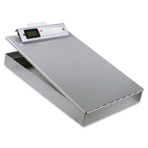 Saunders Recycled Aluminum Redi-Rite Storage Clipboard with Calculator Clip, Letter Size, 8.5 x 12-Inches (11025)