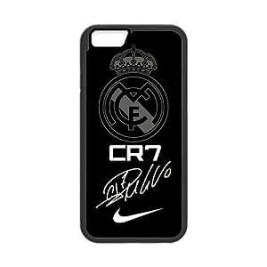 """Eastar iPhone 6 4.7"""" Cover,Protective Hard TPU Guard Case for Apple iPhone 6,Cristiano Ronaldo"""