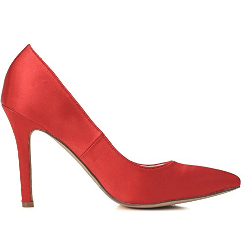 L@YC Zapatos De La Boda De Las Mujeres / Ballet De La Comodidad / Partido De Tarde De La Boda Del SatéN De Los altos Talones Y 0608-01 Multicolor White