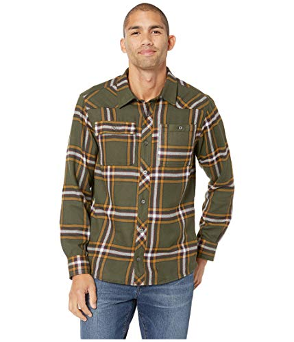 Outdoor Research Men's Feedback Flannel Shirt¿ Juniper Plaid Small