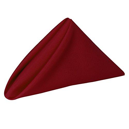 red restaurant napkins - 8