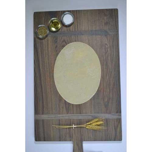 Ultra Thin Crust Oval Par Baked Flatbread, 11 inch -- 50 per case.