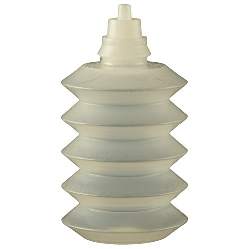 Jensen Global JG1.0AC-10 1 oz Accordion Bottle and Luer Lock Insert Kit Bag of 10 by Jensen Global