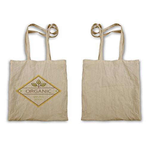 Organic Food 100% Natural Chef Green Vegan Tragetasche c870r