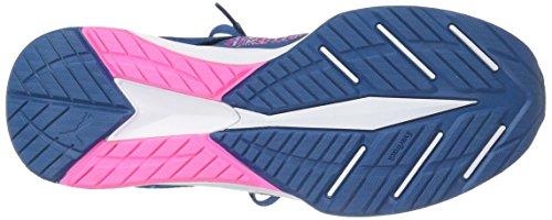 PUMA Damen Ignite Evoknit Wn Cross-Trainer Schuh Echtes Blau-Knockout Pink-Puma Weiß