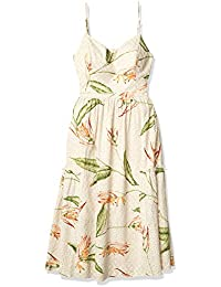Women's V-Neck Cami Midi Dress