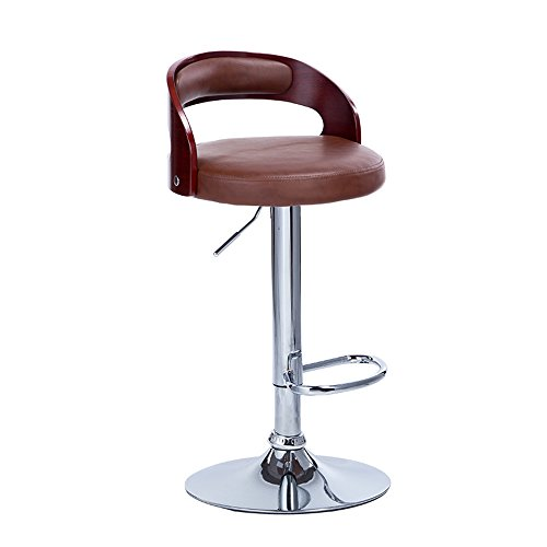 European-style retro bar chairs, solid wood bar chairs / rotating lift chairs / high bar stool / fashion front chairs by Xin-stool