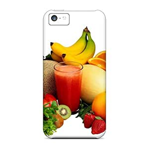 New Style Case Cover FUeSYAw7113dmbxr Fruits For A Healthy Life Compatible With Iphone 5c Protection Case