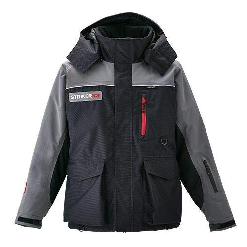 Striker Ice Men's Trekker Ice Fishing Flotation Jacket (Gray/Black, X-Large) (Ice Suit)