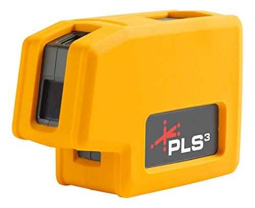 Nuevo nivel de láser de haz rojo PLS3 de 3 puntos PLS-60523N de Pacific Laser Systems