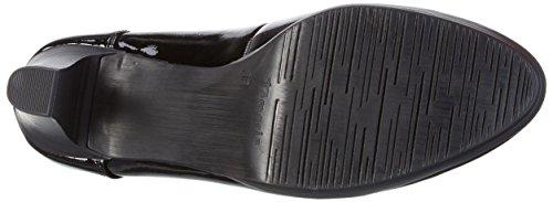 Tamaris Damen 22403 Pumps Schwarz (Black Patent 018)