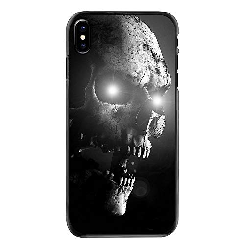 Cell Phone Case Galaxy J7 V / J7 Perx / J7 Sky Pro / J7 Prime/Galaxy Halo Case The Punisher Horrible Halloween Skull Pastel Art