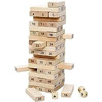 Curtis Toys Jenga Wooden Puzzle (Multicolour) - 54 Pieces