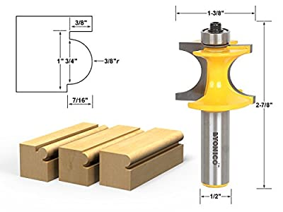 Yonico Bullnose Bead Router Bit by Yonico