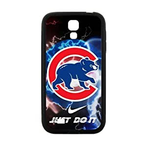Nike Just Do It Coolest Chicago Cubs Case for SamSung Galaxy S4 I9500 (Laser Technology)