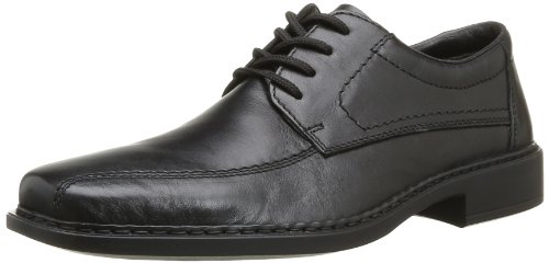 Rieker B0812 Uomini Derby Lace Up Brogue Nero (nero / Nero / 00)