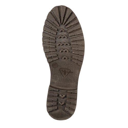 'mocca' Knitted Tamaris upper Brown Dark Boot 0dn8qYO