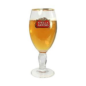 Tuff Luv Original Pint Beer Glass/Glasses/Barware CE 20oz / 568ml for Stella Artois