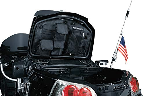Kuryakyn 4135 Motorcycle Travel Luggage: Removable Trunk Lid Organizer Bag with Carrying Handles for 2001-17 Honda Gold Wing GL1800 Motorcycles