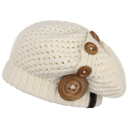 CHILLOUTS Damen Mütze Nelly Hat, White, One Size, 3556