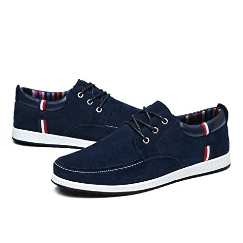 Amazon.com | Mens Leather Casual Shoes Moccasins Men Loafers Luxury Brand Spring Sneakers Male Boat Shoes | Loafers & Slip-Ons