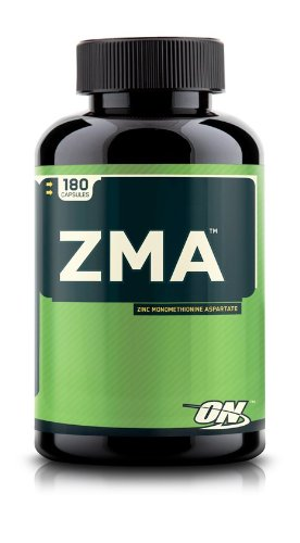 Optimum Nutrition ZMA Capsules, 180 Count - Zma 180 Capsules